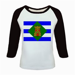 Flag Of Vieques Kids Baseball Jerseys