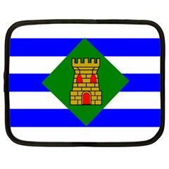 Flag Of Vieques Netbook Case (xl)