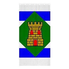 Flag Of Vieques Shower Curtain 36  X 72  (stall)