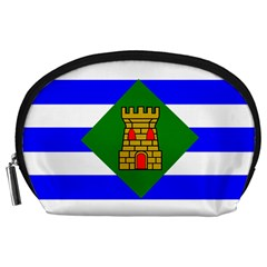 Flag Of Vieques Accessory Pouches (large)