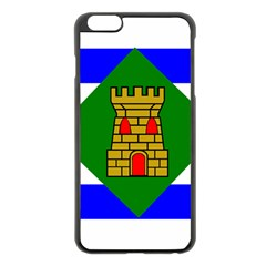 Flag Of Vieques Apple Iphone 6 Plus/6s Plus Black Enamel Case