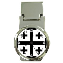 Black Jerusalem Cross  Money Clip Watches by abbeyz71