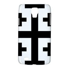 Black Jerusalem Cross  Galaxy S4 Active