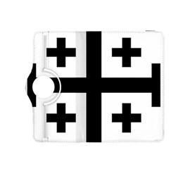 Black Jerusalem Cross  Kindle Fire Hdx 8 9  Flip 360 Case by abbeyz71