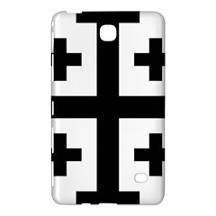 Black Jerusalem Cross  Samsung Galaxy Tab 4 (8 ) Hardshell Case