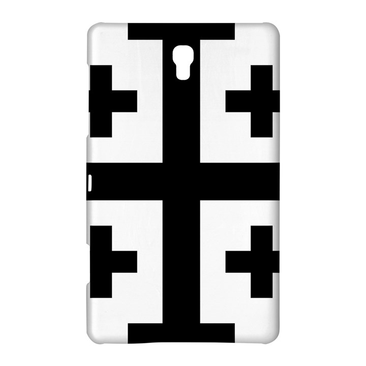 Black Jerusalem Cross  Samsung Galaxy Tab S (8.4 ) Hardshell Case