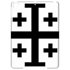 Black Jerusalem Cross  Apple Ipad Pro 9 7   Hardshell Case by abbeyz71