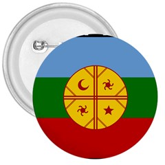 Flag Of The Mapuche People 3  Buttons
