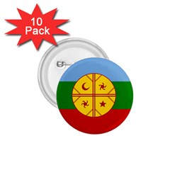 Flag Of The Mapuche People 1 75  Buttons (10 Pack)