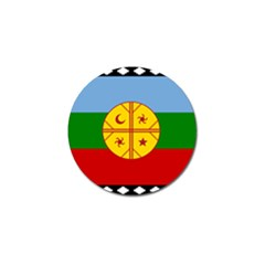 Flag Of The Mapuche People Golf Ball Marker (10 Pack)