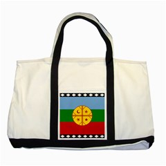 Flag Of The Mapuche People Two Tone Tote Bag by abbeyz71