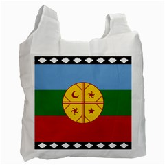 Flag Of The Mapuche People Recycle Bag (one Side)