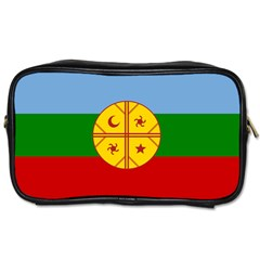 Flag Of The Mapuche People Toiletries Bags