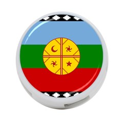 Flag Of The Mapuche People 4 Port Usb Hub (one Side)