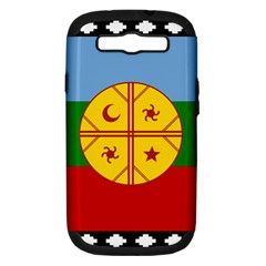 Flag Of The Mapuche People Samsung Galaxy S Iii Hardshell Case (pc+silicone) by abbeyz71