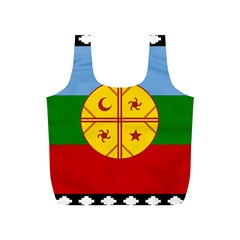 Flag Of The Mapuche People Full Print Recycle Bags (s)