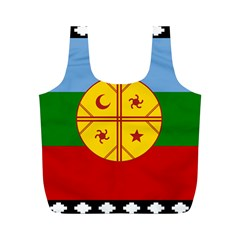 Flag Of The Mapuche People Full Print Recycle Bags (m)
