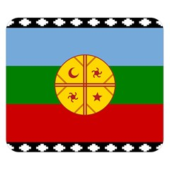 Flag Of The Mapuche People Double Sided Flano Blanket (small)  by abbeyz71
