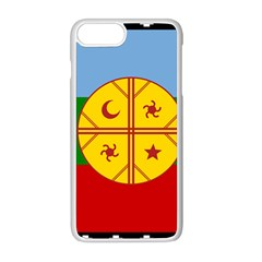 Flag Of The Mapuche People Apple Iphone 8 Plus Seamless Case (white)