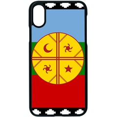 Flag Of The Mapuche People Apple Iphone X Seamless Case (black)