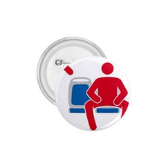 No Manspreading Sign 1 75  Buttons