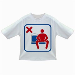 No Manspreading Sign Infant/toddler T Shirts