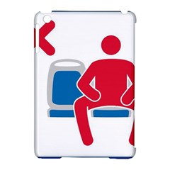 No Manspreading Sign Apple Ipad Mini Hardshell Case (compatible With Smart Cover)