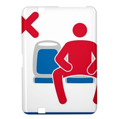 No Manspreading Sign Kindle Fire Hd 8 9