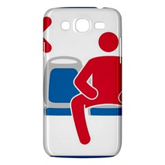 No Manspreading Sign Samsung Galaxy Mega 5 8 I9152 Hardshell Case