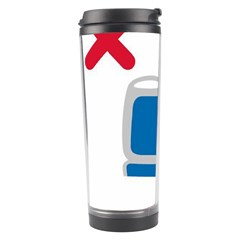No Manspreading Sign Travel Tumbler