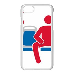 No Manspreading Sign Apple Iphone 8 Seamless Case (white)