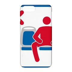 No Manspreading Sign Apple Iphone 8 Plus Hardshell Case