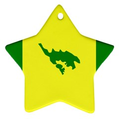 Flag Of Culebra Ornament (star)