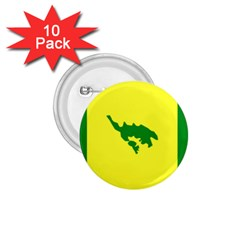 Flag Of Culebra 1 75  Buttons (10 Pack)