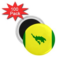 Flag Of Culebra 1 75  Magnets (100 Pack)