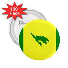 Flag Of Culebra 2 25  Buttons (100 Pack)