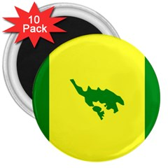 Flag Of Culebra 3  Magnets (10 Pack)