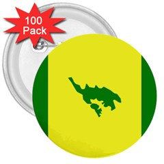 Flag Of Culebra 3  Buttons (100 Pack)