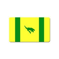 Flag Of Culebra Magnet (name Card)