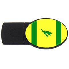 Flag Of Culebra Usb Flash Drive Oval (2 Gb) by abbeyz71