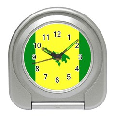 Flag Of Culebra Travel Alarm Clocks