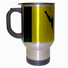Flag Of Culebra Travel Mug (silver Gray)