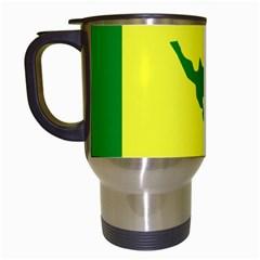 Flag Of Culebra Travel Mugs (white)
