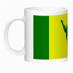 Flag Of Culebra Night Luminous Mugs