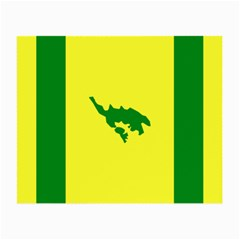 Flag Of Culebra Small Glasses Cloth