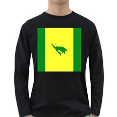 Flag Of Culebra Long Sleeve Dark T Shirts