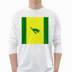 Flag Of Culebra White Long Sleeve T Shirts