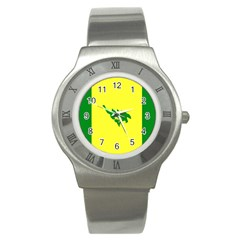 Flag Of Culebra Stainless Steel Watch