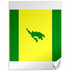 Flag Of Culebra Canvas 12  X 16