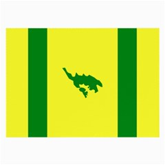 Flag Of Culebra Large Glasses Cloth (2 Side)